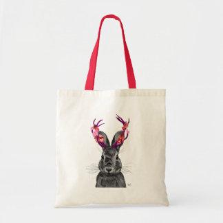 Jackalope with Pink Antlers 2 Tote Bag