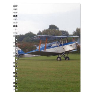 Jackaroo Lined Up For Takeoff Spiral Notebook