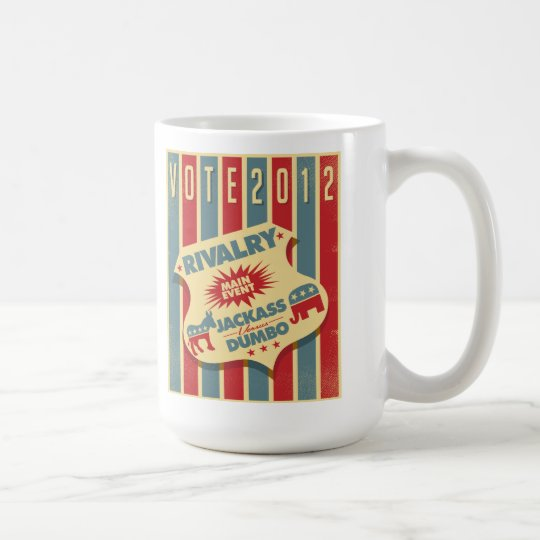 Jackass vs. Dumbo Coffee Mug