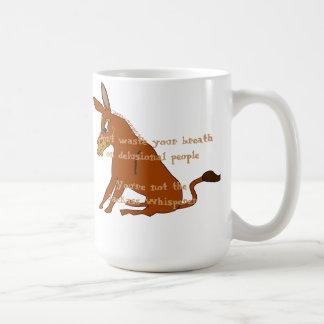 Jackass Whisperer Coffee Mug