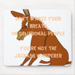 Jackass Whisperer Mouse Pad