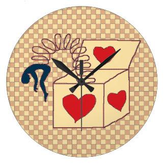 Jackbox Reloj Redondo Grande