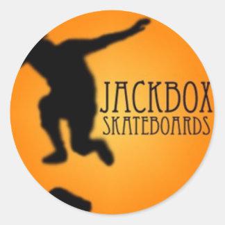 JackBox Stickie Pegatina Redonda