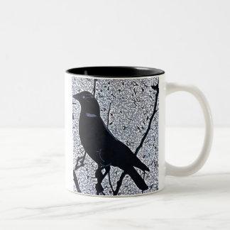 Jackdaw Twilight Mug
