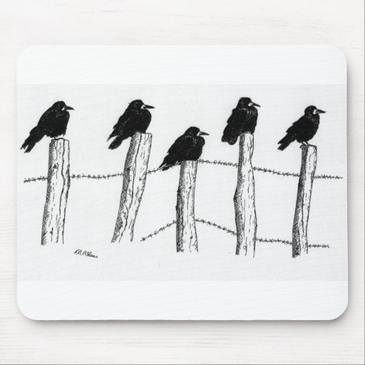Jackdaws Mouse Pad