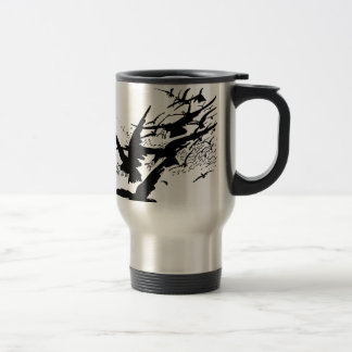 jackdaws. travel mug