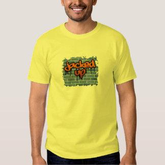 jacked up graffiti  design tshirts