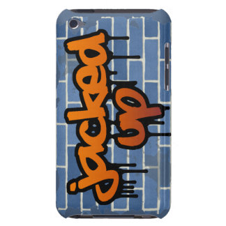 jacked up graffiti ghetto design iPod touch covers