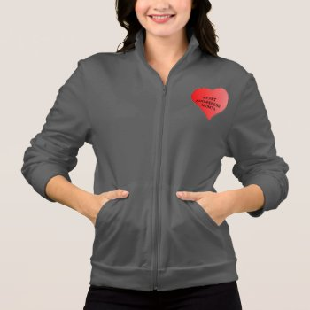 Jacket - Heart Awareness Month by creativeconceptss at Zazzle