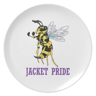 JACKET PRIDE PARTY PLATE