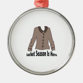 Jacket Season Christmas Ornament