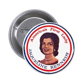 Jackie - botón pin redondo de 2 pulgadas