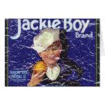 Jackie Boy - distressed Card