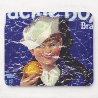Jackie Boy - distressed Mouse Pad