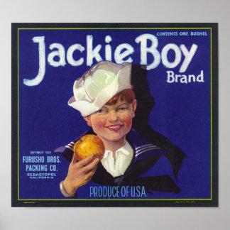 Jackie Boy Print