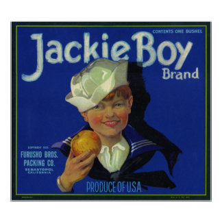Jackie Boy Poster