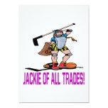 Jackie de toda negocia invitación 12,7 x 17,8 cm