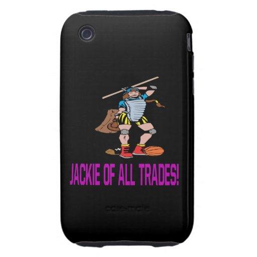 Jackie de toda negocia tough iPhone 3 cárcasas