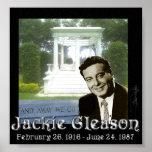 Jackie Gleason Commemorative Print