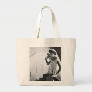 Jackie Kennedy, 1953 Bolsa Tela Grande