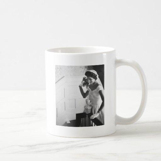 Jackie Kennedy, 1953 Coffee Mugs