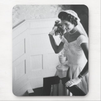 Jackie Kennedy, 1953 Mouse Pad