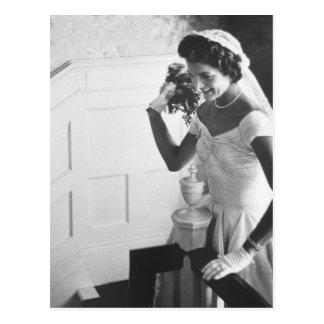 Jackie Kennedy, 1953 Postcard