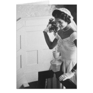 Jackie Kennedy, 1953 Tarjeta De Felicitación