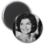 Jackie Kennedy 2 Inch Round Magnet