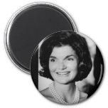 Jackie Kennedy 2 Inch Round Magnet
