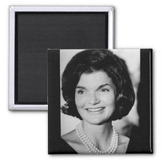 Jackie Kennedy 2 Inch Square Magnet