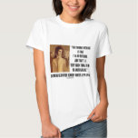 Jackie Kennedy Portrait Trouble With Me Outsider Tee Shirt