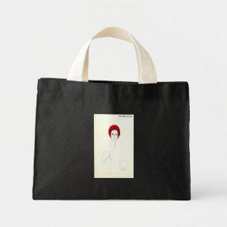 JACKIE O Hat Fashion Art designer sketch Bags