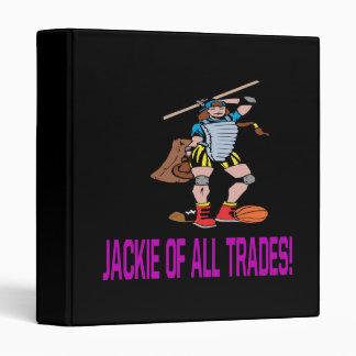 Jackie Of All Trades Binder