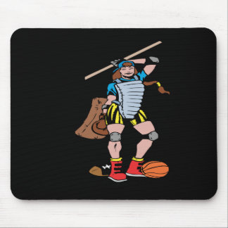 Jackie Of All Trades Mouse Pad