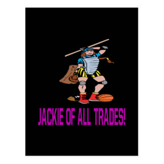 Jackie Of All Trades Postcard