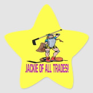 Jackie Of All Trades Sticker