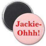 ¡Jackie-Ohhh! Iman De Frigorífico