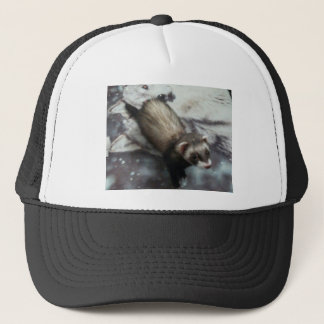 Jackie the Ferret Trucker Hat