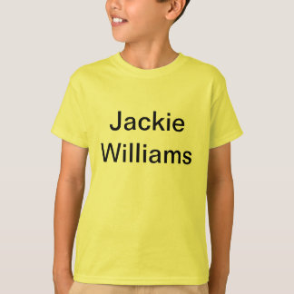 Jackie Williams T-Shirt