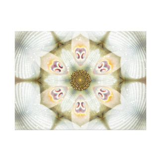 Jackie's Flower Mandala Gallery Wrap Canvas