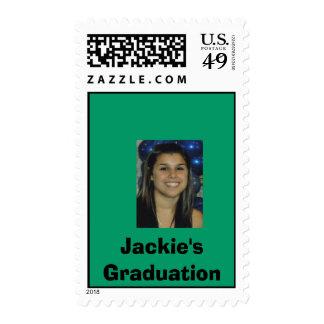 Jackie's Graduation Postage