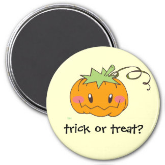 """Jackie's """"trick or treat?"""" magnet"""