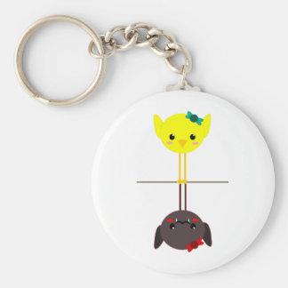 jackill bird bat keychain
