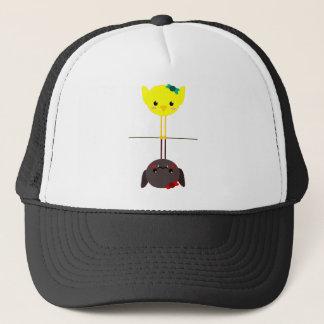 jackill bird bat trucker hat