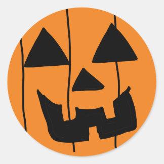 Jackolantern Smiley Sticker