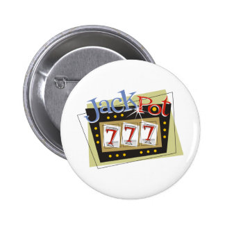 Jackpot Pinback Button