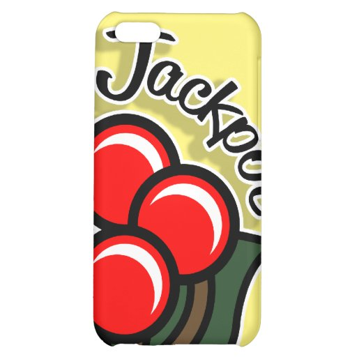 Jackpot Cherries iPhone Case (gold) iPhone 5C Cover
