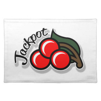 Jackpot Cherries Placemat (light)