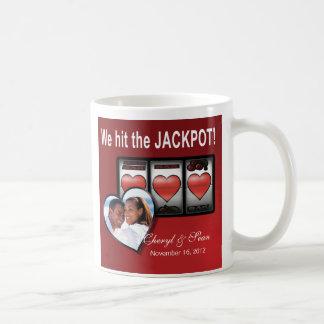 Jackpot Hearts We're Doing It In Vegas Coffee Mug
